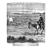 William Brydon - To License For Professional Use Visit Granger.com Shower Curtain