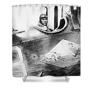 William D. Coney, 1921 Shower Curtain