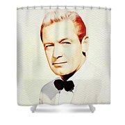 William Holden, Vintage Movie Star Shower Curtain