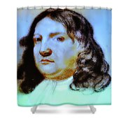 William Penn Portrait Shower Curtain