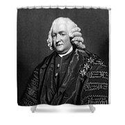 William Pitcairn (1711-1791) Shower Curtain