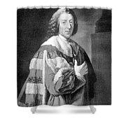 William Pitt, Prime Minister Of Britain Shower Curtain