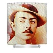 William Powell, Vintage Movie Star Shower Curtain