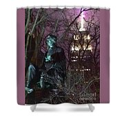 William Seward And Empire State Building 1 Shower Curtain