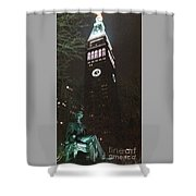 William Seward And Met Life Tower Shower Curtain