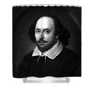 William Shakespeare Shower Curtain