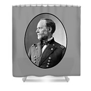 William Tecumseh Sherman Shower Curtain