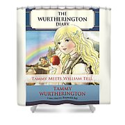 William Tell Cover Art Shower Curtain
