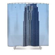 Williams Tower Shower Curtain