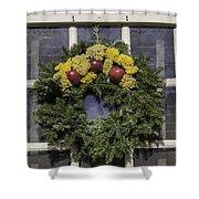 Williamsburg Wreath 25 Shower Curtain