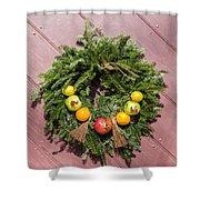 Williamsburg Wreath 54 Shower Curtain