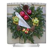 Williamsburg Wreath 87 Shower Curtain
