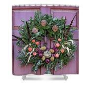 Williamsburg Wreath 92 Shower Curtain