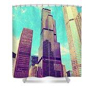 Willis Tower - Chicago Shower Curtain