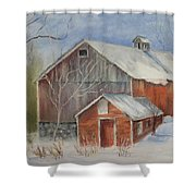 Williston Barn Shower Curtain
