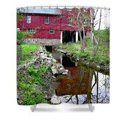 Williston Mill Reflections Shower Curtain