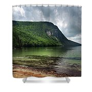 Willoughby Lake In Westmore Vermont Shower Curtain