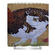 Willow Ptarnagin Shower Curtain