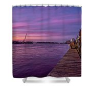 Wilmington Waterfront Shower Curtain