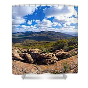 Wilpena Pound And St Mary Peak Shower Curtain