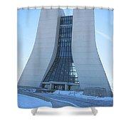 Wilson Hall At Fermilab Shower Curtain
