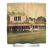 Wilson's Restaurant And Ice Cream Parlor Shower Curtain
