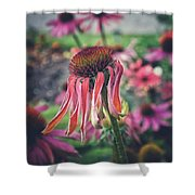 Wilted Shower Curtain