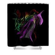 Wilted Tulips Shower Curtain