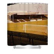 Wimbledon Fc - Plough Lane - Main Stand 1 - 1969 Shower Curtain