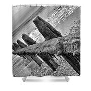 Winchelsea Beach Sussex Shower Curtain