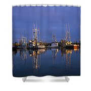 Winchester Bay Reflections Shower Curtain