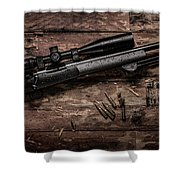 Winchester M70 Shower Curtain