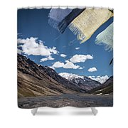 Wind And A Prayer Shower Curtain