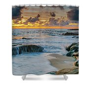 Wind And Sea Shower Curtain
