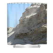 Wind Blowing Across The Desert Shower Curtain