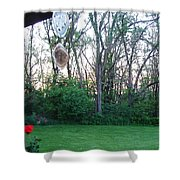 Wind Chimes Shower Curtain