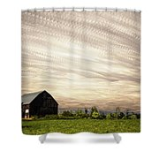Wind Farm Shower Curtain by Matt Molloy