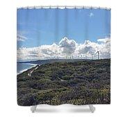 Wind Farm Shower Curtain