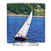 Wind Friend Shower Curtain