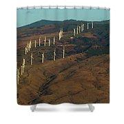 Wind Generators-signed-#0037 Shower Curtain