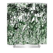Wind In The Corn Shower Curtain