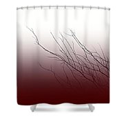 Wind In Your Hair Shower Curtain