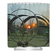 Wind Mobile Shower Curtain