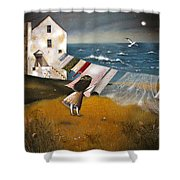 Wind Of Change. Shower Curtain
