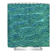 Wind Over Water Shower Curtain