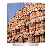 Wind Palace - Jaipur Shower Curtain