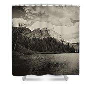 Wind River Lake Shower Curtain