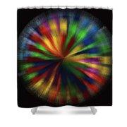 Wind Spinner 4 Shower Curtain