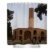 Wind Towers, Iran Shower Curtain