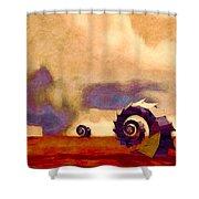 Wind World Shower Curtain